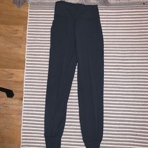 Lululemon gray align joggers// 4